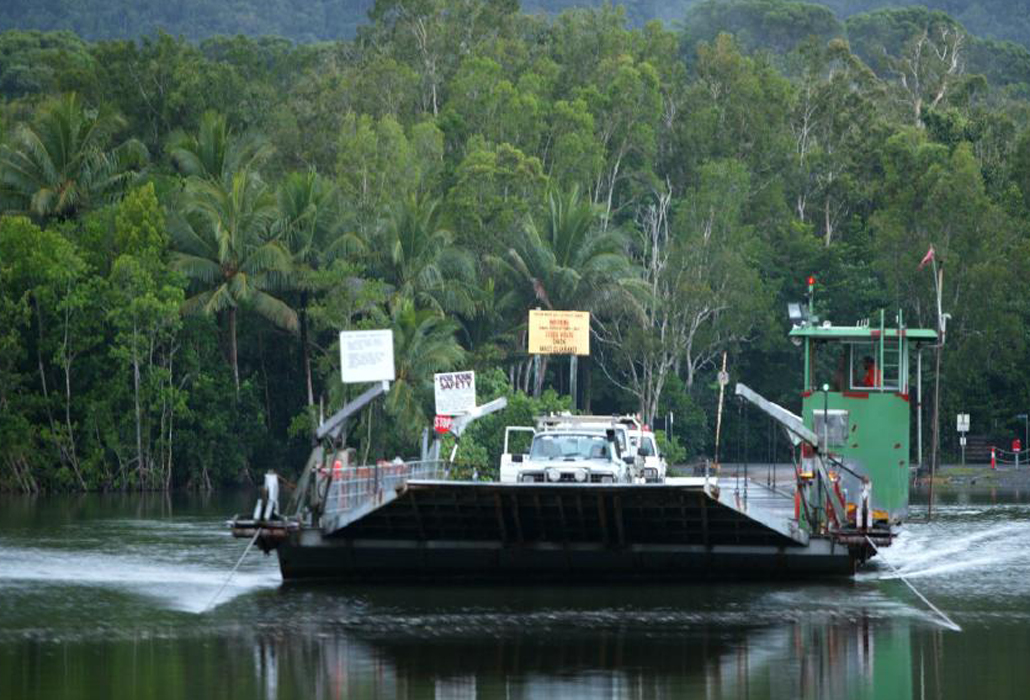 Crossing Daintree
