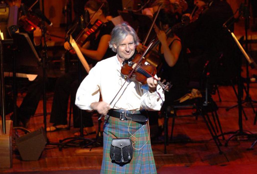 Fiddler Scotland the Brave