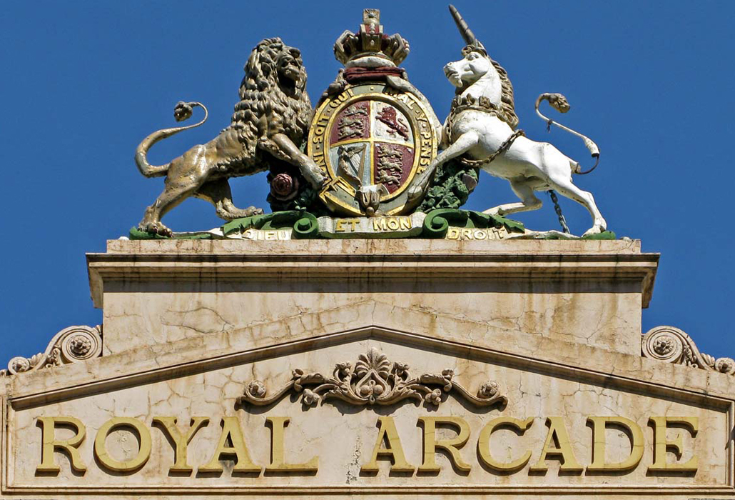 Royal Arcade Ssign