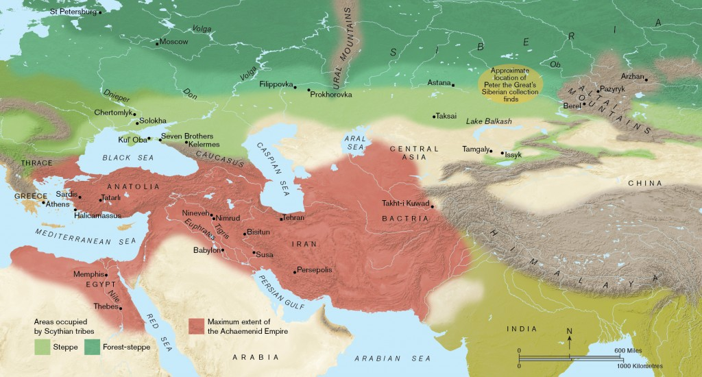 Scythians - Cultural map