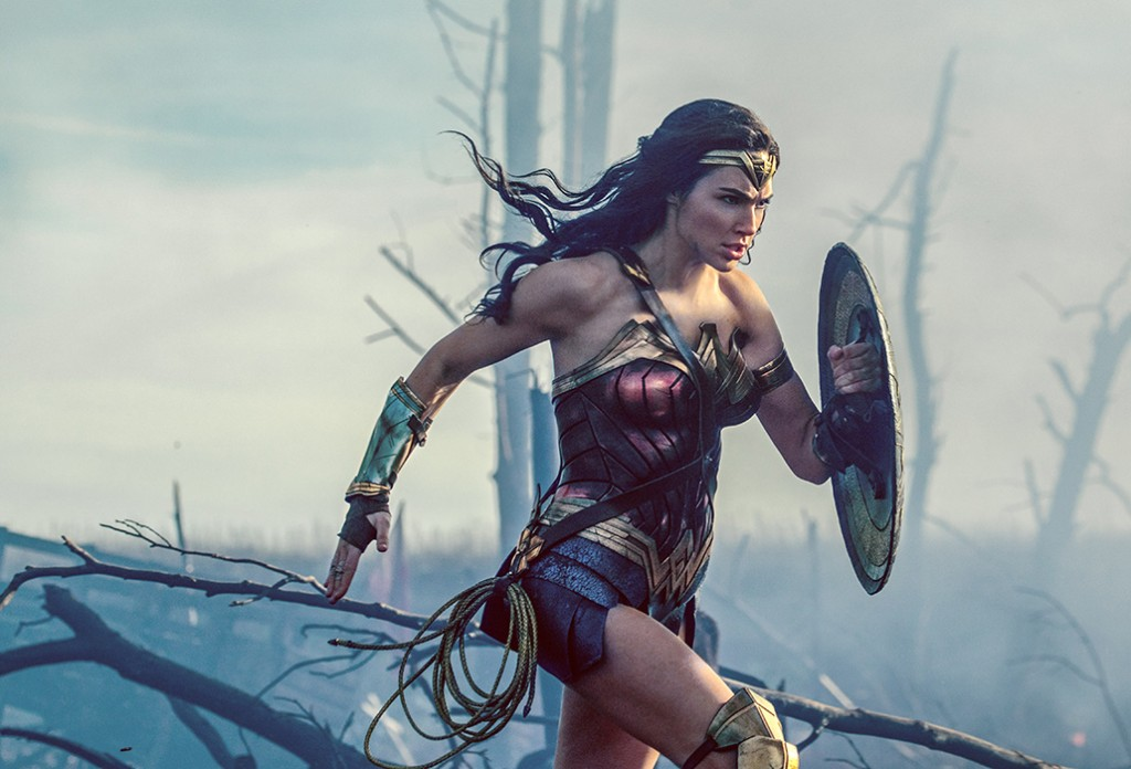 Gal Gadot as Wonder Woman, courtesy Warner Brothers