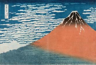 Mt Fuji Hokusai