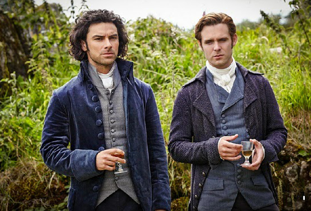 Ross Poldark and dwight Enys