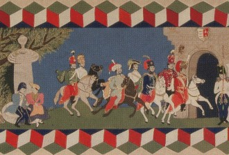 Center Panel Quilt from Vienna
