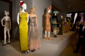 Opening night world premiere exhibition The House of Dior: Seventy Years of Haute Couture. NGV