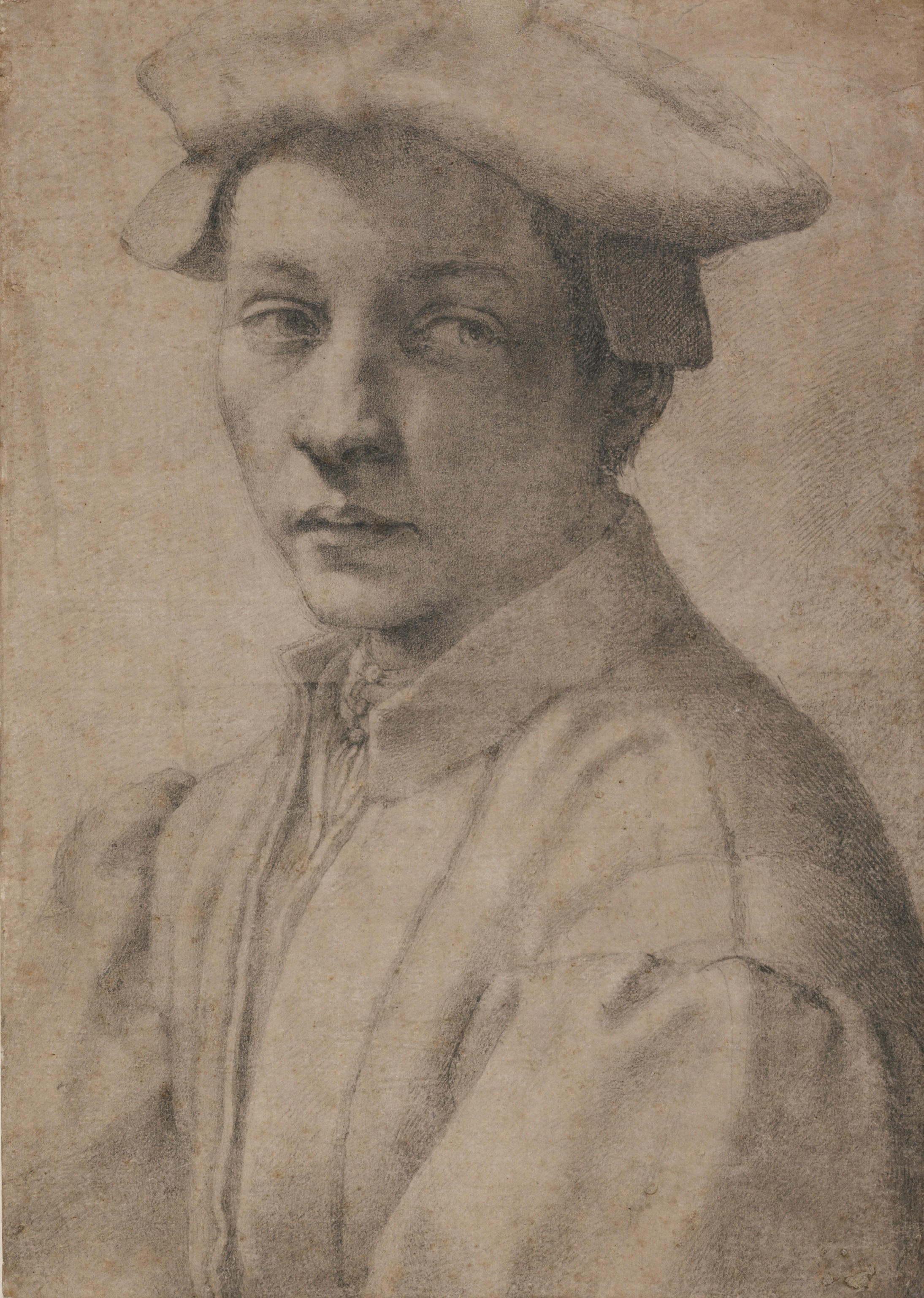3. Michelangelo_Portrait of Andrea Quaratesi_British Museum_London